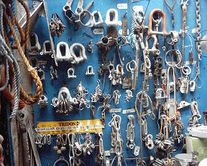 Whatever chandlery you're looking for, you'll probably find it here